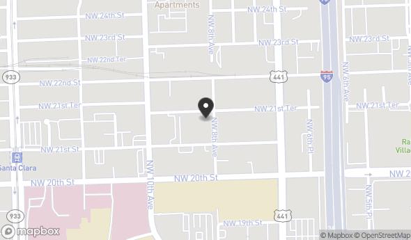 Location of The Allapattah Building: 804 NW 21st Terrace, Miami, FL 33127