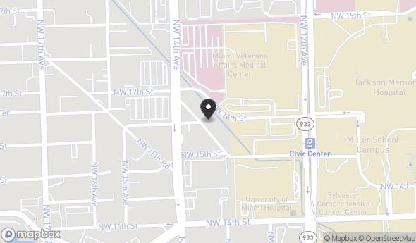 Location of 1571 NW 13th Ct, Miami, FL 33125