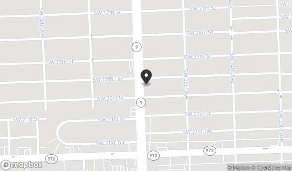 1959 Southwest 27th Avenue Map View