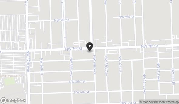Location of 3420 NW 7th St, Miami, FL 33125
