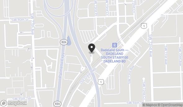 9150 South Dadeland Boulevard Map View