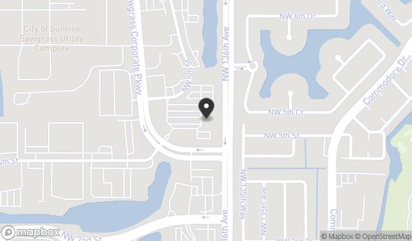 Map Of Sunrise Florida.400 Sawgrass Corporate Parkway Sunrise Fl 33325 Office For Sale