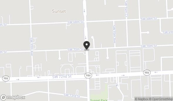 Location of SUNSET INTERNATIONAL CENTER, UNIT 213: 7000 Southwest 97th Avenue, Miami, FL 33173