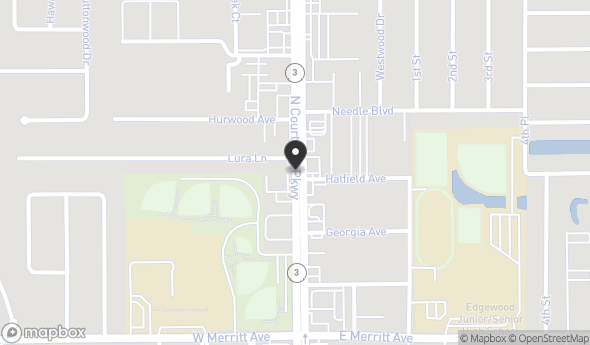585 N Courtenay Pkwy Map View