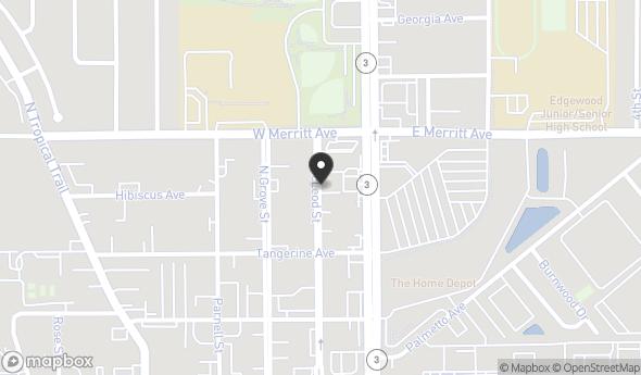 Location of Brand New Office Space - Dental Office Co-tenant : 252 Mc Leod St., Merritt Island, FL 32953