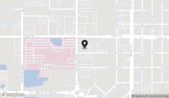 Location of 901 - 911 N. Central Avenue, Kissimmee, FL, 34741