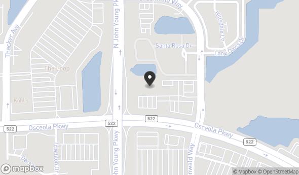 Location of Osceola Corporate Center: 1301 W Osceola Pkwy, Kissimmee, FL 34741