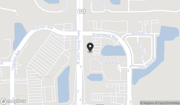 Location of Parkway Office Plaza: 3280 Greenwald Way N, Kissimmee, FL 34741