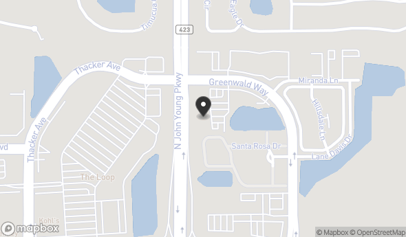 Location of Parkway Office Plaza: 3294 Greenwald Way N, Kissimmee, FL 34741