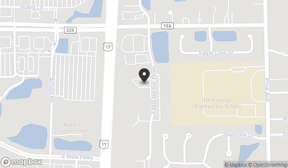 Location of Fleming Island Medical Plaza : 1675-89 Eagle Harbor Parkway East, Orange Park, FL 32003