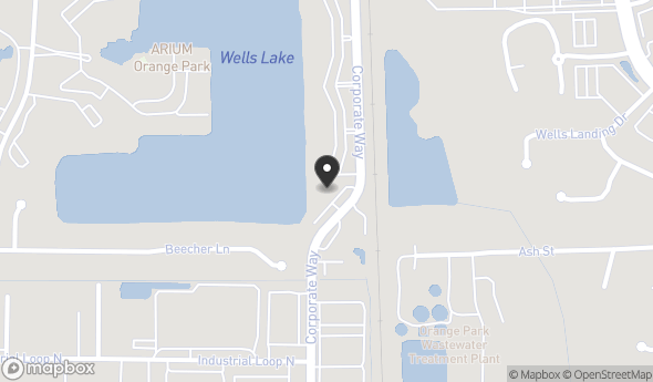 Location of 360 Corporate Way, Orange Park, FL 32073