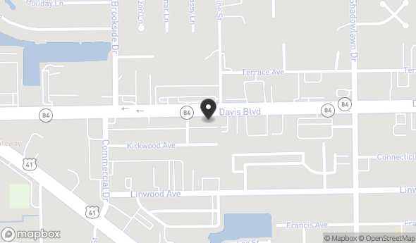 Location of 2464 Davis Blvd, Naples, FL 34104
