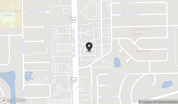 Location of TANGLEWOOD MARKETPLACE: 4910 Tamiami Trl N, Naples, FL 34103