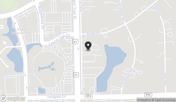 Location of Peacock Court: 6200 - 6236 Trail Blvd., Naples, FL 34108