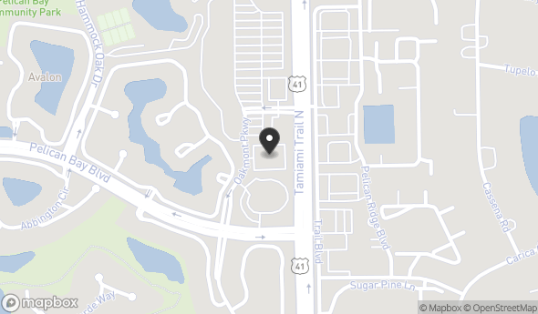 Location of American Momentum Bank Building: 8625 Tamiami Trail North, Naples, FL 34108