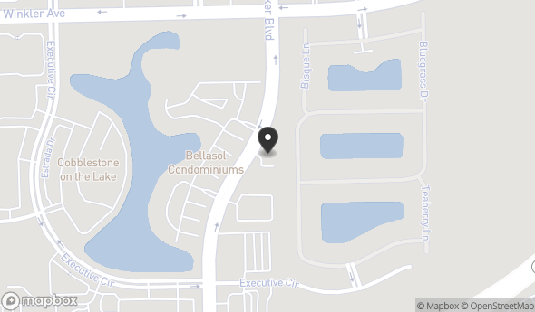 Location of 4301 Veronica S Shoemaker Blvd, Fort Myers, FL 33916