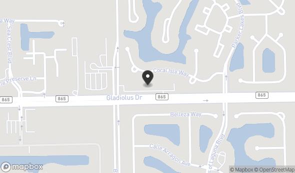 Location of PARKER PLAZA: 9400 Gladiolus Dr, Fort Myers, FL 33908