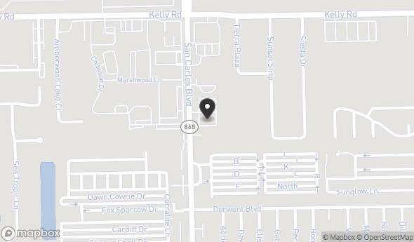 16191 San Carlos Blvd Map View