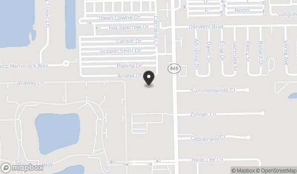 16520-538 San Carlos Blvd Map View