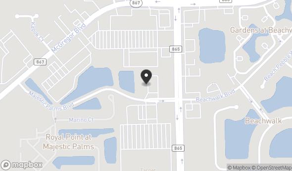 11560 Majestic Palms Blvd Map View