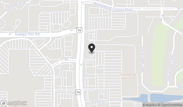 Location of SHOPPES OF LAKELAND: 4163 US Highway 98 N, Lakeland, FL 33809