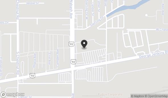 Location of Wabash Shopping Center: 2041 George Jenkins Blvd, Lakeland, FL 33815