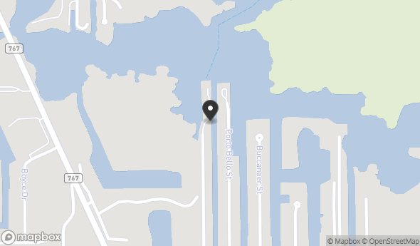 Location of 16498 Tortuga Street, Bokeelia, FL 33922