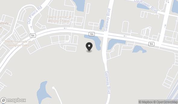 Location of Gateway Blvd: 5453 Gateway Blvd, Wesley Chapel, FL 33544