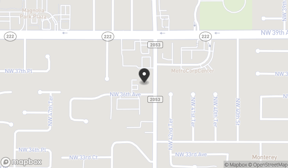 Location of NW 43rd Street Professional Office: 3620 NW 43rd St, Gainesville, FL 32606