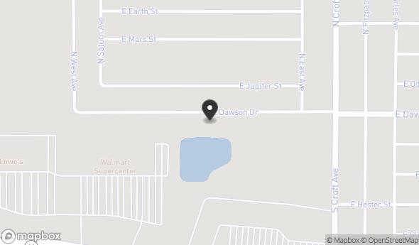2624 East Dawson Drive Map View
