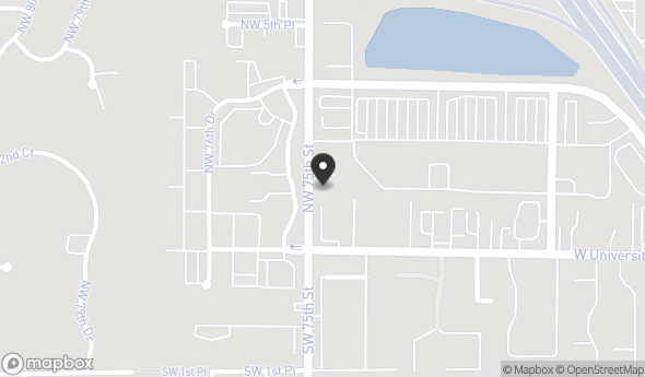 Location of Tower Road Retail | 209 NW 75th Street: 209 NW 75th St, Gainesville, FL 32607