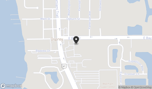 49 South Tamiami Trail Map View