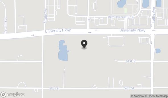 Location of 2540 University Pkwy, Sarasota, FL 34243