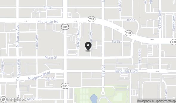 Location of 2051 Main Street , Sarasota, FL 34237