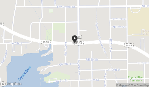 0 North Suncoast Boulevard Map View