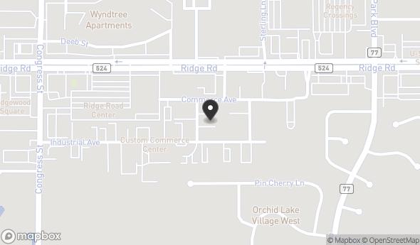 Location of 8340 Donal Street, Port Richey, FL 34668