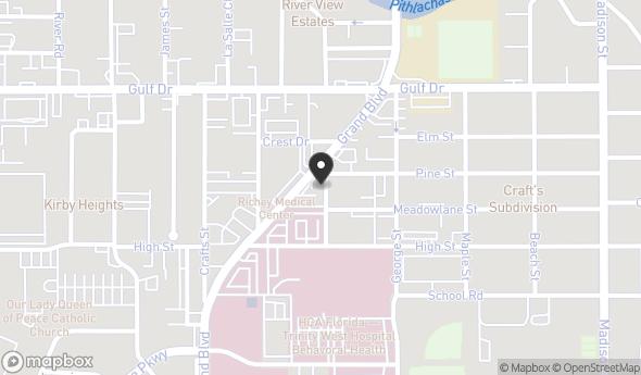 Location of 5354 Grand Boulevard, New Port Richey, FL 34652
