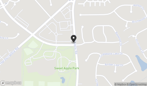 Location of Sweet Apple Village: 12010 Etris Rd, Roswell, GA 30075