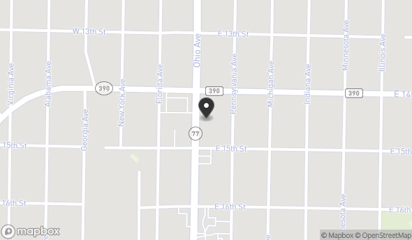 1411 Ohio Ave Map View