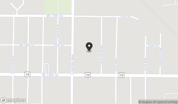 Location of Panama Plaza: 1398 W 15th St, Panama City, FL 32401