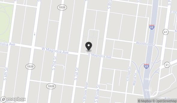 Location of Old Louisville Storage Space: 1382 Ouerbacker Ct, Louisville, KY 40208