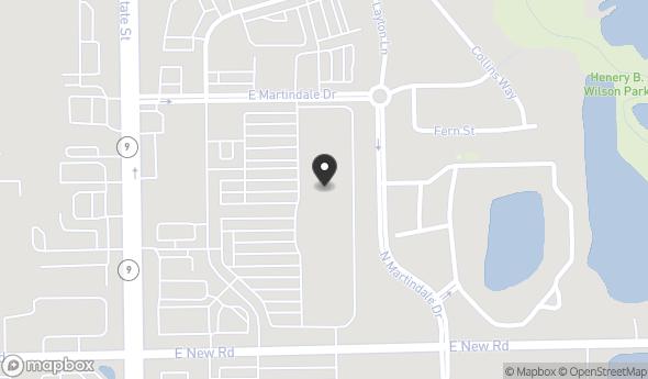 2175 Barrett Dr Map View