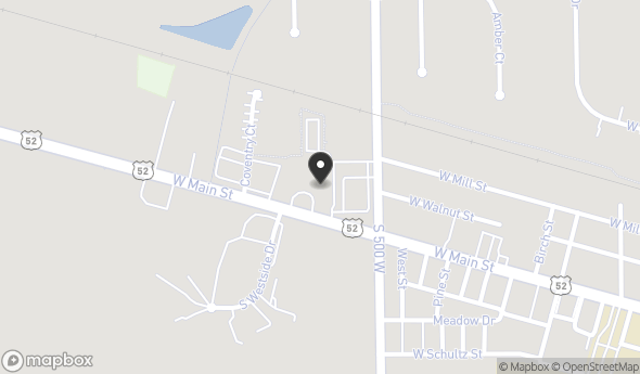 Location of New Towne Shoppes: 5040 W US Highway 52, New Palestine, IN 46163