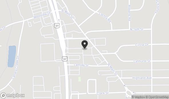 Location of Franklin Plaza: 1172 North Main Street, Franklin, IN 46131