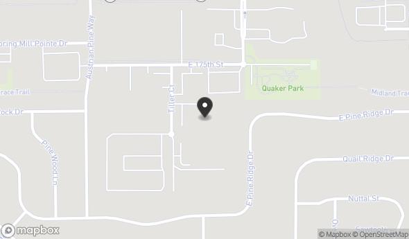 Location of 17435 Tiller Ct, Westfield, IN 46074