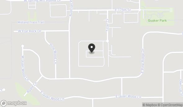 17406 Tiller Ct Map View