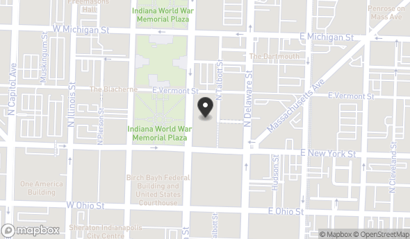 Location of The Whit: 307 N Pennsylvania St, Indianapolis, IN 46204