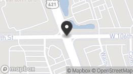 W 106th St and N Michigan Rd: W 106th St and N Michigan Rd, Carmel, IN 46032