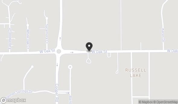 Location of 8617 Oak St, Zionsville, IN 46077