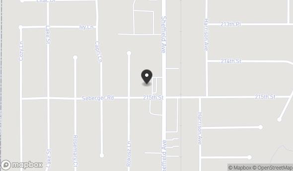 1440 Hart Street Map View